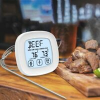 Press Screen Timer BBQ Thermometer Food Electronic Thermometer Kitchen Wat B6P9
