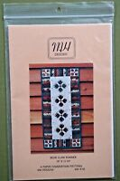 "Bear Claw Table Runner quilt pattern MH Designs 28"" x 12.75"" uncut unmarked"