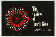 1960s Casinos of Puerto Rico Gaming Guide, 20 pages, Illustrated
