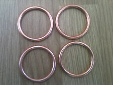 EXHAUST GASKET KAWASAKI ZXR 400 Set of  4 gaskets