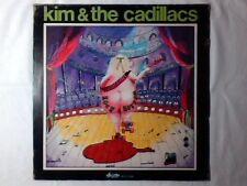 KIM & THE CADILLACS Rock bottom lp SIGILLATO RENEGADES