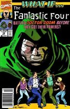 WHAT IF #18 FANTASTIC FOUR BATTLED DR DOOM BEFORE THEY