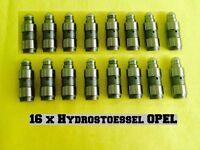 16 x Opel Agila A (H00) 1,0 + 1,2 L Satz Hydrostößel VENTILSTOESSEL HYDRAULISCH