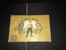 Vintage Certified Cremo Cigar Box