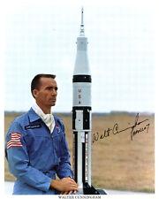 (SSG) WALT CUNNINGHAM - NASA Astronaut Signed 8X10 Color Photo - PSA/DNA COA