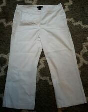 25% OFF!  the limited white stretch cropped pants size 12