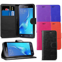 Premium Wallet Case Leather Flip Cover For Samsung Galaxy J3 2016 J320 + Screen