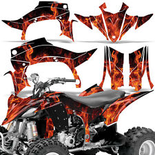 Decal Graphic Kit Yamaha YFZ 450 R/SE ATV Quad Decal Parts YFZ450 14-16 ICE ORNG