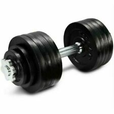 ONE (x1) YES4ALL Adjustable Dumbbell Weight (UP TO 52.5 LBS) SINGLE ONLY IN HAND