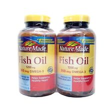 Nature Made Fish Oil 1200 mg OMEGA-3 360mg 400 Softgels