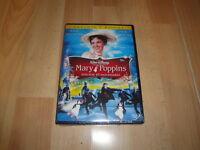 MARY POPPINS EDICION 45 ANIVERSARIO DE WALT DISNEY EN DVD CON 2 DISCOS NUEVO