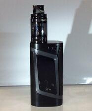 CUSTOM SMOK Alien 220W Kit BLACK/GUNMETAL- Custom tip and glass that match!
