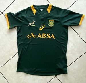 Asics Green South Africa Rugby jersey XL / Free Shipping