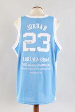 Michael Jordan Signed Jersey Tar Heels LE 32/123 – COA UDA