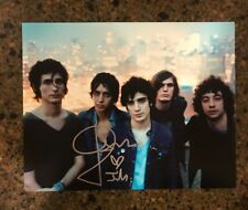 * JULIAN CASABLANCAS * signed autographed 11x14 photo * THE STROKES  * PROOF * 4