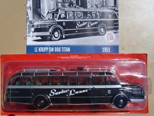 n° 33 KRUPP SW 080 TITAN Autobus et Autocar du Monde Entier année 1951, 1/43 New