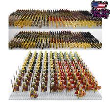 21pcs CUSTOM Knight Minifigures Military Army Soldier Figure DIY Minifigure Toys