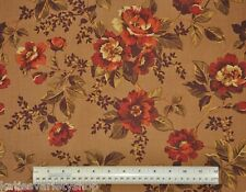 1/2 yard 100% cotton fabric Ginger Rose Andover Fabrics floral home decor quilt