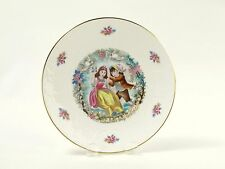 Vintage Royal Doulton Plate Valentine's Day 1979 Boy Pushing Girl on Swing
