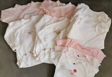 Lot Body Bebe Fille 1 mois manches courtes  longues Absorba Cadet Roussell Next