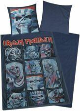 Iron Maiden Bettwäsche Eddie 100% Baumwolle 135x200 cm neu Top