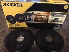 New listing 2 Kicker 5.25 5-1/4 Speaker Grill Covers Only, Speakers Not Included