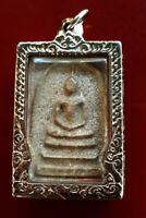 Lp Toh Wat Rakang, Real Antique Phra Somdej Pim Yai Talisman Thai Buddha Amulet