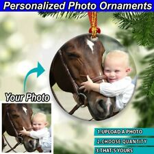Personalized Photo Ornament Gifts For Family