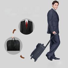 Black Zipper Suit Dress Coat Garment Storage Travel Carrier Bag Hanger Protector