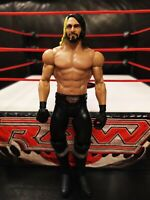 WWE SETH ROLLINS MATTEL BASIC SERIES WRESTLING FIGURE THE SHIELD