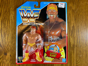 WWF WWE HULK HOGAN Wrestling Action Figure Hasbro 1992 SEALED (Series 5)