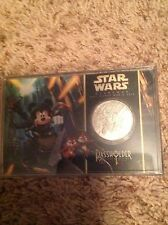 DISNEY STAR WARS WEEKENDS PASSHOLDER EXCLUSIVE COIN 2013 ULTRA RARE!