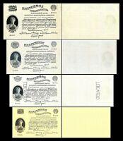 2x  100, 250, 500, 1.000 Gold Rubles - Ausgabe 1923 - Reproduktion - 26