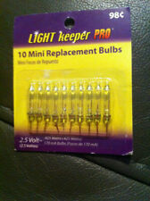 Light Keeper Pro 2.5 V Mini Replacement Bulbs Clear Color 10 Ct