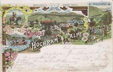 73451 - Litho Gruss aus Hochram - Alpe Gemeinde Gablitz im Bezirk St.Pölten-Land