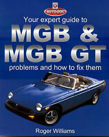MGB SHOP REPAIR MANUAL EXPERT GUIDE BOOK HOW TO FIX PROBLEMS MG WILLIAMS ROGER