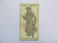1912 Players Cigarette Card Characters from Dickens Mr Squeers Nicholas Nickleby