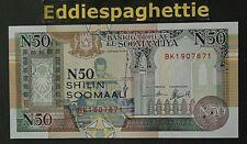 Somalia 50n Shillings 1991 UNC R2