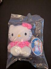NEW 1999 Hong Kong McDonald's X Sanrio Hello Kitty Chinese QiPao Plush Toy