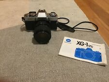 Vintage 35mm Film Camera Minolta Vintage XG-1 Camera With 50mm Lens