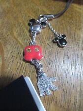 Swarovski - Disney Mickey Mouse Phone Charm- Brand New - Retired