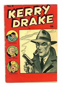 Kerry Drake Detective Cases #4 VG+ 4.5 1944