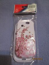 Samsung Phone Protector Cover Galaxy S3 Certification ISO9001 Pink Flowers NIP