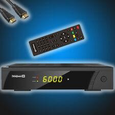 Satelliten Sat-Receiver Digiquest 8010 HD Digital FullHD DVB-S2 inkl.HDMI-Kabel