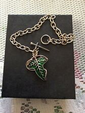 Lord Of The Rings Elven Brooch Charm Bracelet