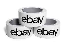 10 Rollen Orig. EBAY-Klebeband 66m x 50mm Stark und Leise Paketband NEU