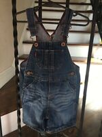 Cute! Baby Girl's Size 18 Months Levi's Overalls Denim Blue Adjustable Straps