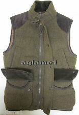 NWT Ralph Lauren wool down leather trim hunting vest S Small