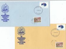 Stamps Australia Fremantle to Bali Indonesia yacht race group 5 souvenir covers