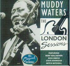 Muddy Waters London sessions (Dec. 1971; 9 tracks, #zillion2610432)  [CD]
